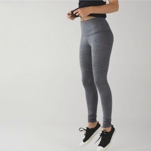 Rare* Lululemon Wunder Under Gray Spotted Legging